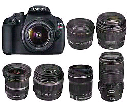 WANTED: Canon EOS  Rebel T5 Lens WANTED.
