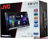 JVC , dvd Bluetooth USB, AUX IPOD, IPHONE ...,Garante un ans