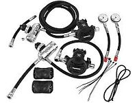 Apeks Sidemount Regulator Kit never used brand new £725