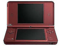Nintendo DS XL - red wine color