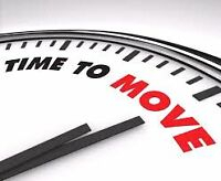 Time to move!
