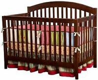 BRAND NEW 4 IN 1 BABY CRIB!! FREE MATTRESS INCLUDED!!!