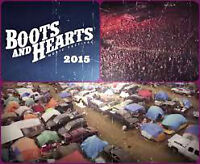 Boots and Hearts 2 General admission and Camping