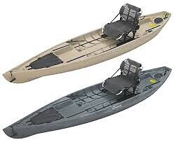Nucanoe Pursuit 13.5feet Fishing Kayaks coming this May!!