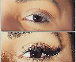 Eyelashes extension lashes semi permanent