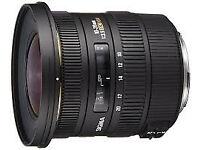 Sigma 10-20mm f/3.5 EX DC HSM Canon Fit