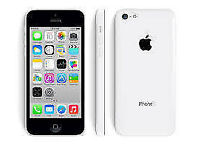 APPLE iPhone 5C 8GB WHITE FACTORY UNLOCKED 60 DAYS WARRANTY GOOD CONDITION LAPTOP/PC USB LEAD
