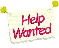 SERVERS, HOSTESS AND KITCHEN STAFF WANTED
