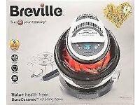 Brand New Unopened Breville VDF122 Halogen Oven DuraCeramic Health Fryer White + Grey Fresh Chips