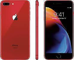 Apple iPhone 8 Plus (RED) , Storage - 64 GB  brand new sealed with 1 year apple warranty.