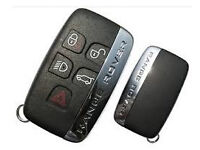 Range Rover Vogue - Sport - Evoque Key Land Rover keyless cut and coded to car - free programming