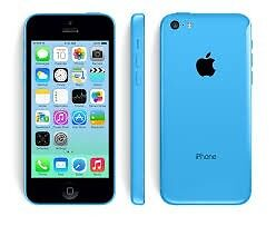 apple iphone 5c blue unlocked for any network sim card