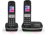 BT HOUSE PHONES TWIN
