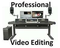 Professional Video Editor for $100