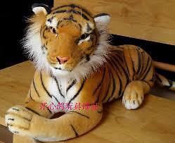 Attention Dal Tiger Fans: Life Like Stuffed Tiger