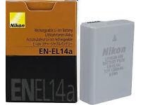 Nikon EN-EL14a Li-ion Battery for Nikon DSLR