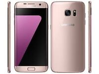 Sim Free Samsung Galaxy S7 Pink 32GB With Warranty