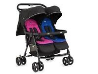 Joie Aire Twin / Double Pushchair / Buggy / Stroller - NEW (bought for £109)