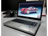 GAMING HP ELITRBOOK LAPTOP- i5 2.6GHZ- 12GB RAM- RADEON HD 7570M 1GB GRAPHICS- 1600x900