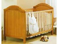 Casatto Cot Bed with mattress 0-8years