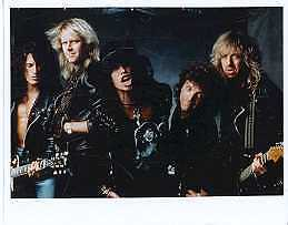 Aerosmith hard rock 8x10 photo Rock and Roll Hall of Fame