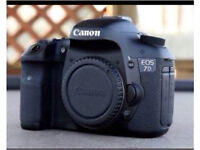 Canon 7D with 50mm lens