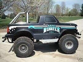 Looking for a Carter mini monster truck