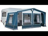 Caravan Awning - Dorema Size 10, Daytona Blue - Used once