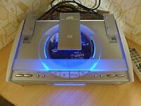 JVC CD player with 2 speakers