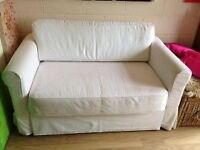 IKEA SOFABED HAGALUND MINT WITH 2 SETS SPARE COVERS DELIVERY Assistance