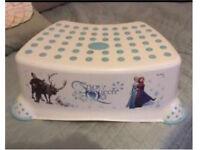 Disney Frozen kids step and matching potty