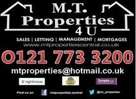 3 bedroom property available now -