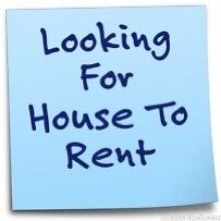 Looking to rent a house or townhouse for father and child