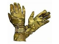 mtp military second hand leather gloves