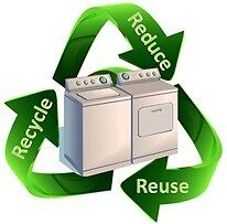 Removal of washers and dryers