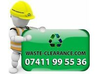 RUBBISH COLLECTION BUILDERS WASTE REMOVAL GARDEN CLEARANCE COMMERCIAL METAL RECYCLING