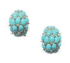 Kenneth Jay Lane Emerald Earrings