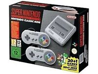 SUPER NINTENDO WANTED..