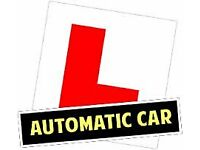 Driving lesson from qualified driving instructor in AUTOMATIC CAR