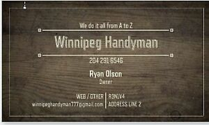 Licensed bonded and insured handyman