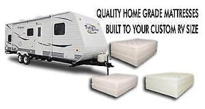 CUSTOM MATTRESSES FOR YOUR RV OR CABIN? CALL US TODAY!