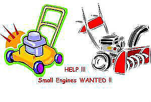 WANTED: Small Gas Powered Engines working or not working