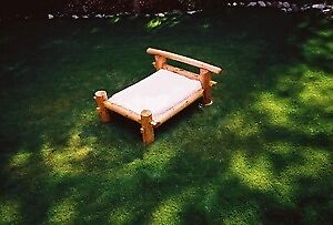 Hand -Made, mortise & tenon Western Red Cedar, Queen sized bed