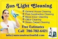 MOVE IN/OUT/POST CONSTRUCTION CLEANING & STEAM CARPET WASH