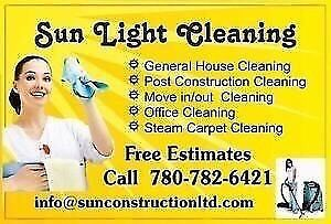 CONDO,APT,HOUSE,MOVE IN-OUT CLEANING SERVICE