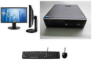 FAST system Win7pro with 22 inches LCD monitor, keyboard&mouse