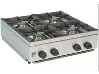 Cooker Table Top Nat Gas/ LPG (Brand New) 4 Burner