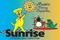 Sunrise program ages 2 to 4 -  Sage Creek/ South St.Vital