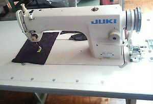 USED JUKI DDL 8700 INDUSTRIAL SINGLE NEEDLE MACHINE WHITE COLOR