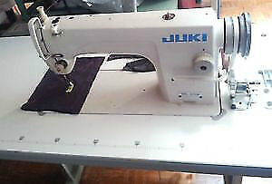 USED JUKI DDL 8700 INDUSTRIAL SEWING MACHINE - SINGLE NEEDLE